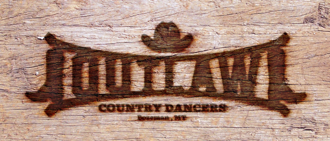 Outlaw country swing dancers